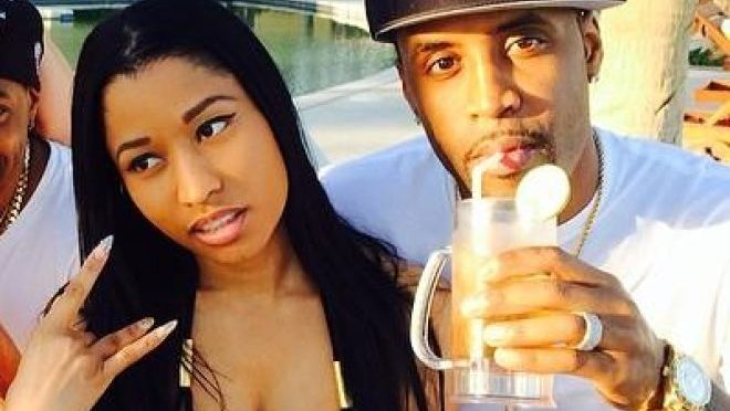 "Safaree's sends Message To Nicki Minaj: ""You're still bothered by me""."