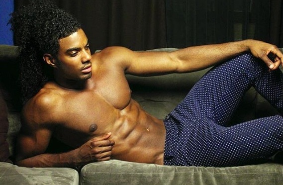 MCM: Model Aaron Spady Has The Ladies Wanting To Play In His Curly Mane!