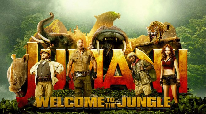Jumanji: Welcome to the Jungle In Theaters For Christmas Starring Kevin Hart, The Rock & More!