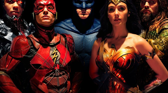 JUSTICE LEAGUE In Theaters For ThanksGiving!