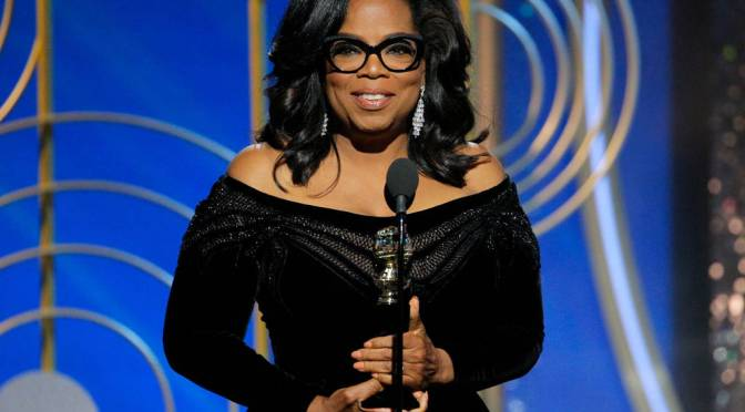 Oprah Winfrey Delivers A Touching Golden Globes Speech [Watch Video]