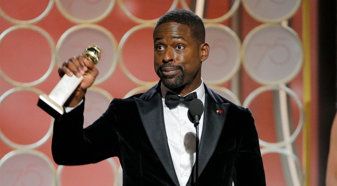 Sterling K. Brown Makes History as First Black Man to Win Lead Actor in a Drama Golden Globe