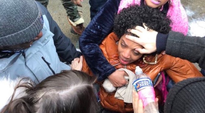 'Love and Hip Hop' Star Yandy Smith Maced While Protesting Jail Conditions in Brooklyn [VIDEO]