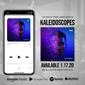 James Worthy Kaleidoscopes EP Promo